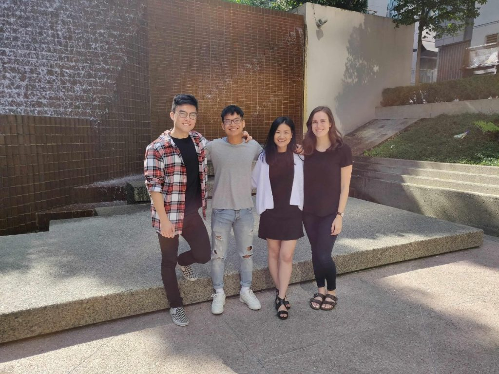 Co-op Students SFU at Technology Company